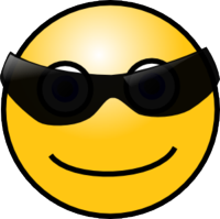 Sunglass Smiley
